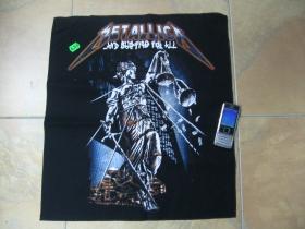 Metallica chrbtová nášivka obšívaná
