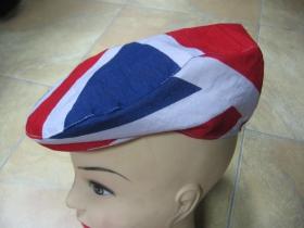 čiapka Rude Boy UNION JACK britská vlajka 100% bavlna univerzálna veľkosť