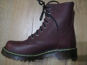 T-REX 8.dierkové bordové topánky z pravej kože najvyššej akosti - TOP KVALITA!!!