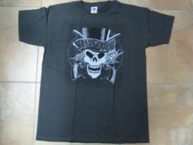 Guns n Roses šedé pánske tričko 100%bavlna