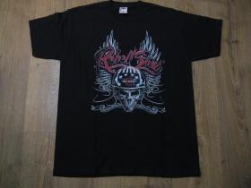 Rebel Soul Harley Davidson čierne pánske tričko materiál 100% bavlna
