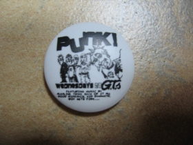 Punk! odznak priemer 25mm
