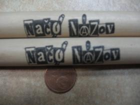 Bubenícke paličky BICI STICKS model ROCK s logom Načo Názov