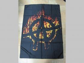 Anarchy vlajka cca. 110x75cm 100%polyester