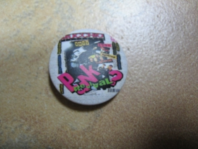 Punk Revival odznak priemer 25mm