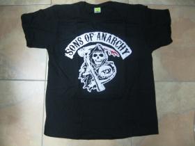 Sons of Anarchy čierne pánske tričko materiál: 100%bavlna