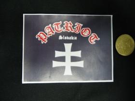 Patriot Slovakia  nálepka 10x7cm
