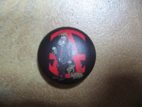 Anarchy punkáč so psom  odznak priemer 25mm