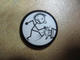 punkáč odznak priemer 25mm