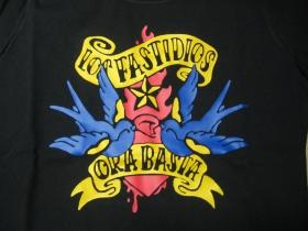Los Fastidios čierne pánske tričko 100%bavlna