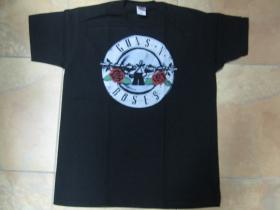 Guns n Roses čierne pánske tričko 100%bavlna