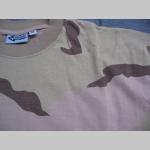 pánske maskáčové tričko vzor DESERT materiál 100%bavlna
