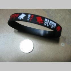 Slash pružný silikónový náramok s vyrazeným motívom