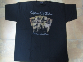 Children of Bodom čierne pánske tričko 100%bavlna