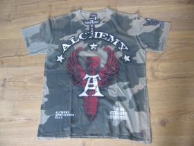 Alchemy maskáčové pánske tričko materiál 100% bavlna posledný kus veľkosť L