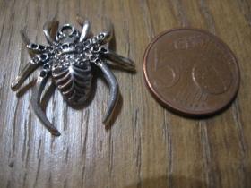 pavúk -  prívesok samostatný bez retiazky materiál: nikel