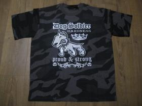 """Dog Soldier nočný """" ruský """" maskáč - Nightcamo SPLINTER, pánske tričko 100%bavlna"""