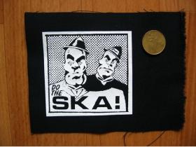 SKA!  potlačená nášivka cca.12x12cm (po krajoch neobšívaná)