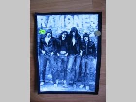 Chrbtová nášivka Ramones