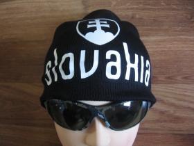 Slovakia  Zimná čiapka na založenie v zátylku s tlačeným logom univerzálna veľkosť 65%akryl 35%vlna