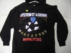 System of a down   čierna pánska mikina s kapucou 80%bavlna 20%polyester  posledný kus veľkosť XXL