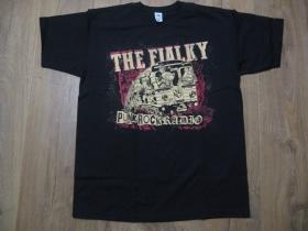 The Fialky Punk rock Radio čierne pánske tričko 100%bavlna