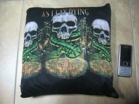 Asilay Dying  vankúšik cca.30x30cm 100%polyester