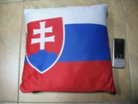 Slovensko  vankúšik cca.30x30cm 100%polyester