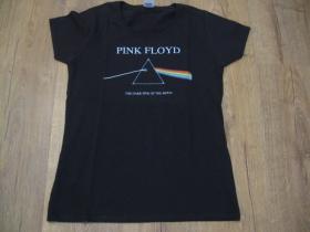 Pink Floyd čierne dámske tričko materiál 100% bavlna
