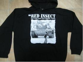 Red Insect - Tank  čierna pánska mikina s kapucou 65%bavlna 35%polyester