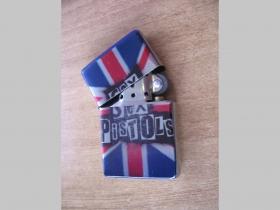 Sex Pistols, doplňovací benzínový zapalovač s vypalovaným obrázkom (balené v darčekovej krabičke)