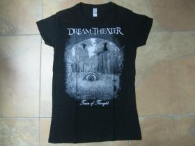 Dream Theater  čierne dámske tričko 100%bavlna