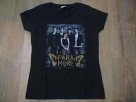 Para More čierne dámske tričko materiál 100% bavlna