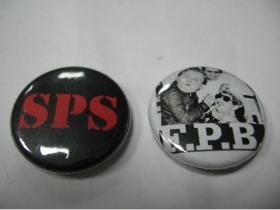 SPS, F.P.B. Odznaky 25mm (cena za 1ks- upresnenie konkrétneho odznaku, alebo odznakov napíšte do rubriky komentár)