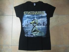 Stratovarius čierne dámske tričko 100%bavlna