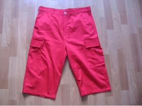 Kraťasy BDU červené  (krátke aj 3/4ťové- cena za 1kus) 65%bavlna 35%polyester