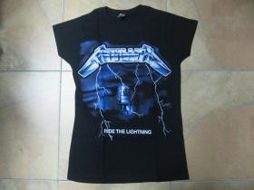 Metallica čierne dámske tričko 100%bavlna