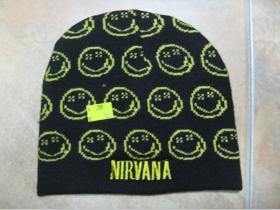 Nirvana, zimná čiapka 100%akryl univerzálna veľkosť