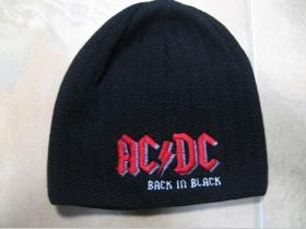 AC/DC, zimná čiapka  100%akryl univerzálna veľkosť
