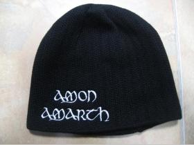 Amon Amarth, zimná čiapka 100%akryl univerzálna veľkosť