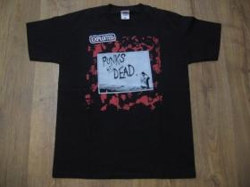 Exploited čierne pánske tričko materiál 100% bavlna