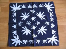 Šatka - modrá 52x52cm 100%bavlna