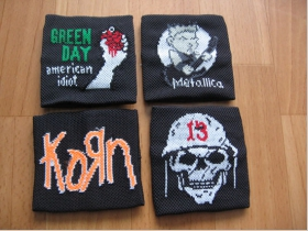 Green Day, Korn, smrtka, potítka, cena za 1ks