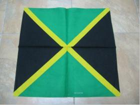 Šatka - Jamaica, 52x52cm 100%bavlna