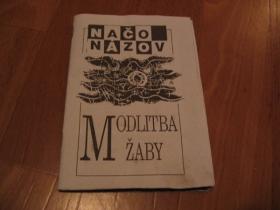 Brožúrka Načo Názov Motlitba žaby, 28strán D.I.Y. product