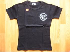 Animal Liberation  čierne dámske tričko 100%bavlna
