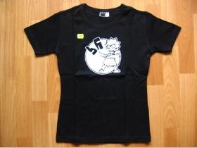 Líza Against Fascism dámske tričko čierne 100%bavlna
