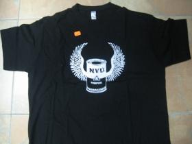 N.V.Ú. Pogopunk čierne pánske tričko 100%bavlna