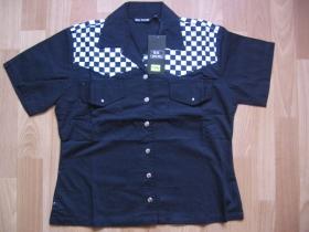 Ska dámska košeľa čierna 100%bavlna