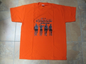 Clockwork Orange oranžové pánske tričko 100%bavlna